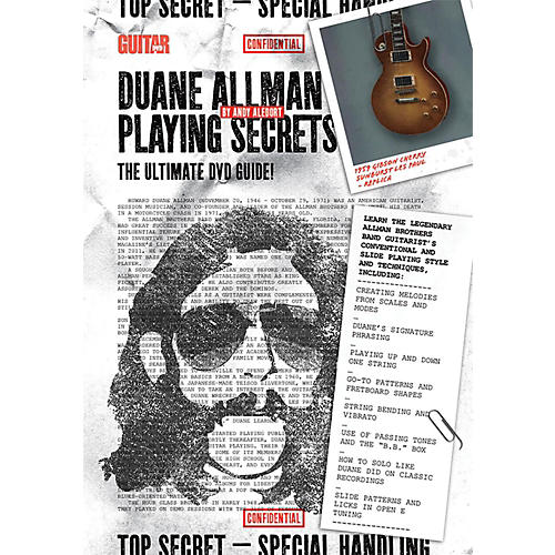 Alfred Guitar World - Duane Allman Playing Secrets DVD Intermediate