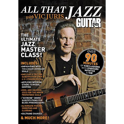 Alfred Guitar World All That Jazz Vic Juris DVD-thumbnail