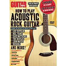 Alfred Guitar World How To Play Acoustic Rock Guitar (DVD)