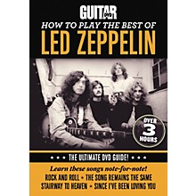 Alfred Guitar World How To Play The Best Of Led Zeppelin DVD