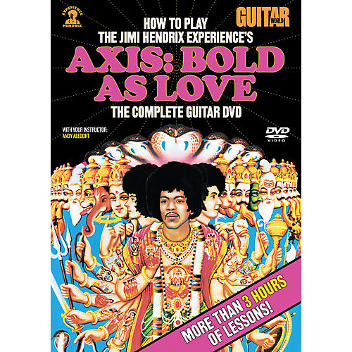 Alfred Guitar World How To Play The Jimi Hendrix Experience's Axis: Bold As Love (DVD)-thumbnail