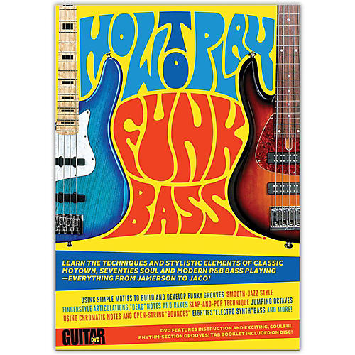 Alfred Guitar World: How to Play Funk Bass DVD-thumbnail