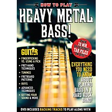 Alfred Guitar World How to Play Heavy Metal Bass DVD