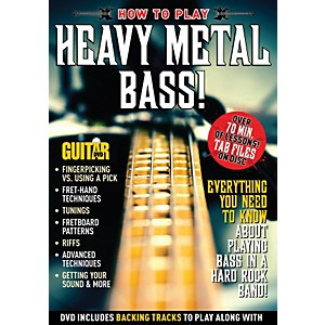 Alfred Guitar World How to Play Heavy Metal Bass DVD by Alfred