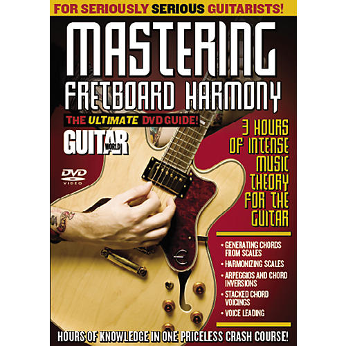 Alfred Guitar World: Mastering Fretboard Harmony (DVD)-thumbnail