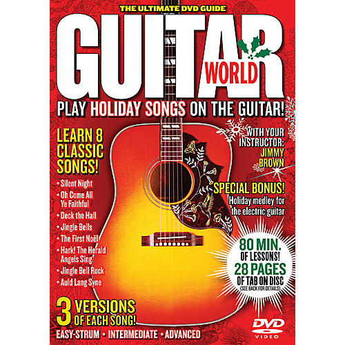 Alfred Guitar World Play Holiday Songs on the Guitar (DVD)-thumbnail