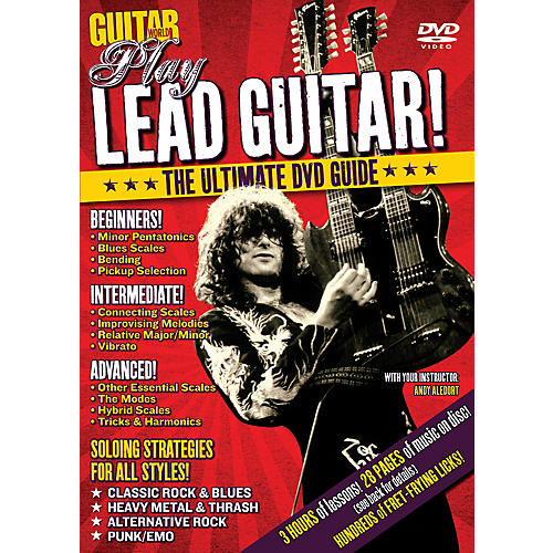 Alfred Guitar World Play Lead Guitar DVD-thumbnail