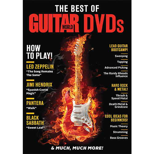 Alfred Guitar World The Best of Guitar World DVDs