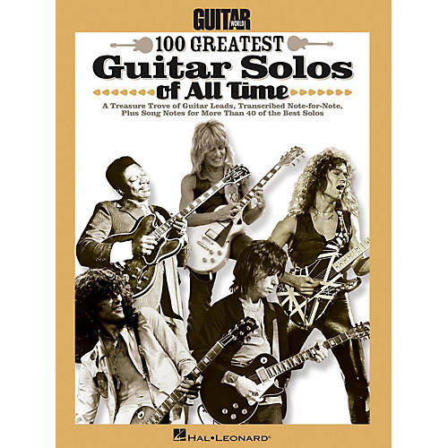 Hal Leonard Guitar World's 100 Greatest Guitar Solos Of All Time-thumbnail