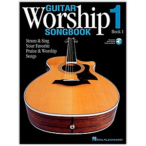 Hal Leonard Guitar Worship Songbook 1 Book/Online Audio