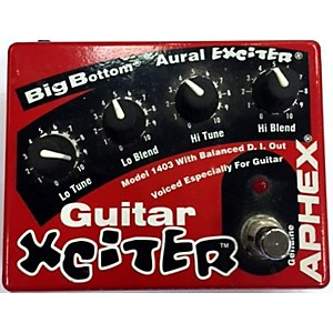 Pre-owned Aphex Guitar Xciter Pedal by Aphex