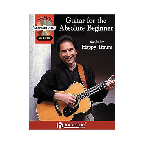 Homespun Guitar for the Absolute Beginner (Book/CD)-thumbnail