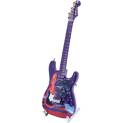 Fender GuitarMania Flaming Guitar 1967 Figurine
