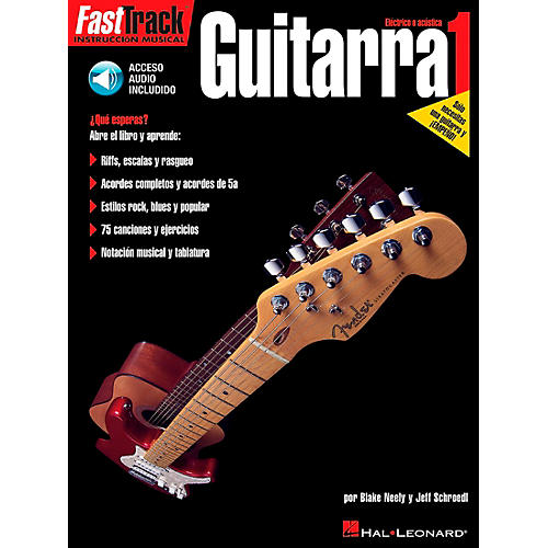 Hal Leonard Guitarra - Book 1 (Book/CD)-thumbnail