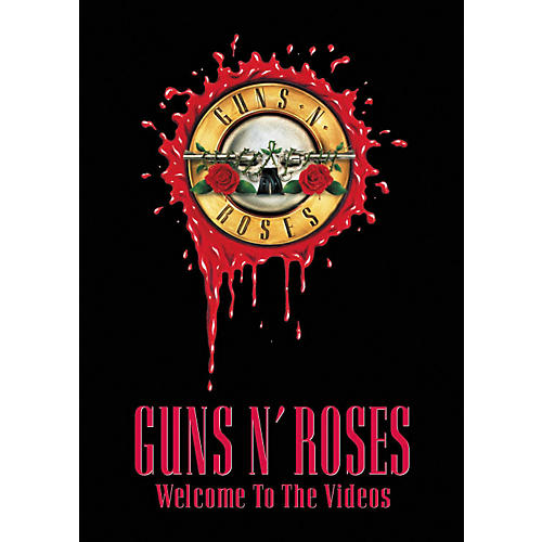 Music CD Guns N' Roses - Welcome to the Videos (DVD)