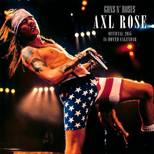 Browntrout Publishing Guns N Roses 2015 Calendar Square 12x12