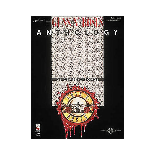 Hal Leonard Guns N' Roses Anthology Guitar Tab Book-thumbnail