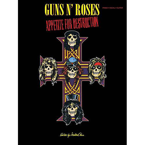 Cherry Lane Guns N Roses  Appetite For Destruction for Piano/Vocal/Guitar-thumbnail