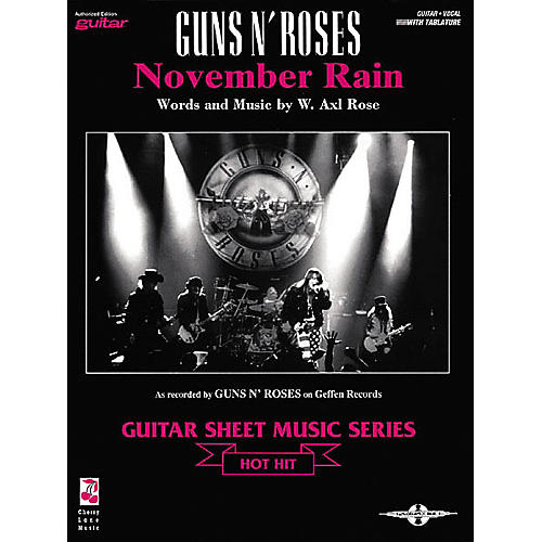 Cherry Lane Guns N' Roses: November Rain (Sheet Music)