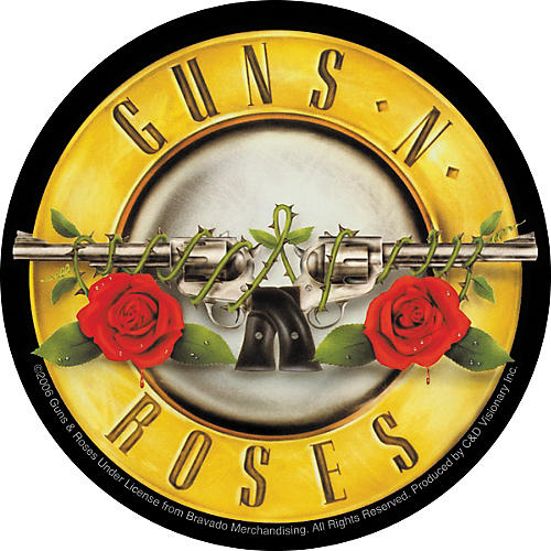 C&D Visionary Guns & Roses Sticker