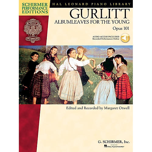 G. Schirmer Gurlitt: Albumleaves for The Young Op 101 Book/CD Schirmer Performance Edition By Gurlitt-thumbnail