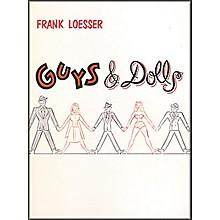 Hal Leonard Guys & Dolls Vocal Score Songbook