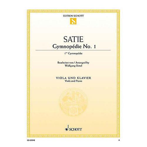 Schott Gymnopédie No. 1 (Viola and Piano) String Series Softcover
