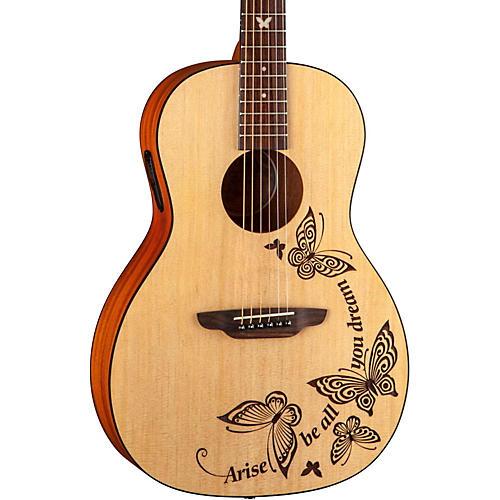 Luna Guitars Gypsy Dream Parlor Acoustic Guitar-thumbnail