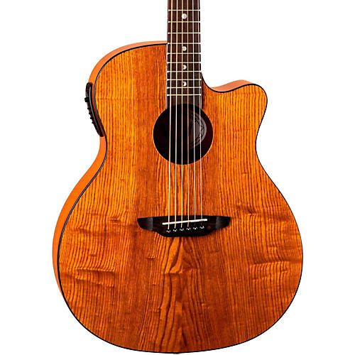 Luna Guitars Gypsy Grand Concert Ash Acoustic-Electric Guitar-thumbnail