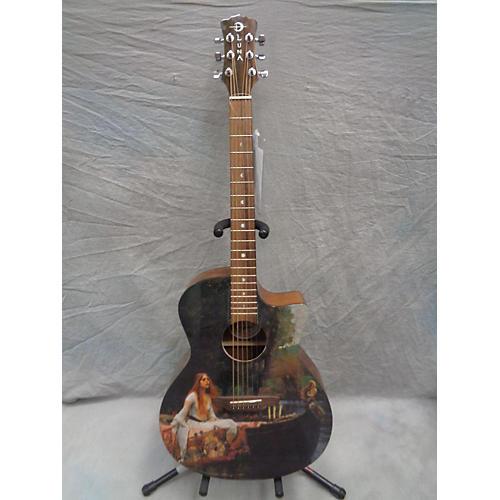 Luna Guitars Gypsy Lady Of Shalott Acoustic Electric Guitar