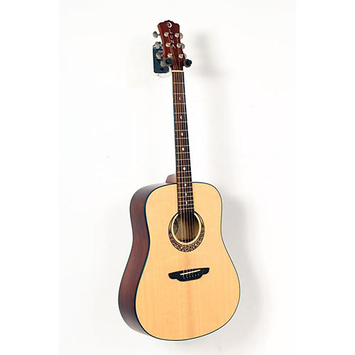 Luna Guitars Gypsy Series Gypsy Muse Dreadnought Acoustic Guitar-thumbnail