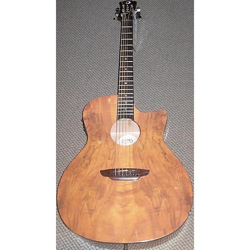 Luna Guitars Gypsy Spalt Acoustic Electric Acoustic Electric Guitar-thumbnail