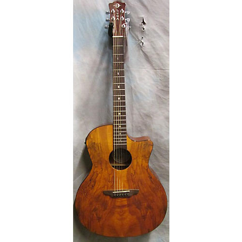 Luna Guitars Gypsy Spalt Acoustic Electric Acoustic Electric Guitar-thumbnail