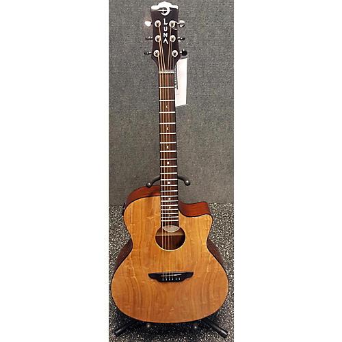 Luna Guitars Gypsy Spalt Acoustic Electric Acoustic Electric Guitar