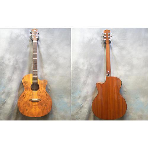 Luna Guitars Gypsy Spalt Acoustic Electric Guitar