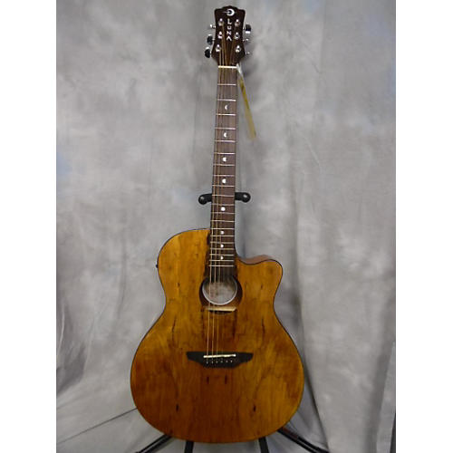 Luna Guitars Gypsy Spalt Acoustic Electric Guitar-thumbnail