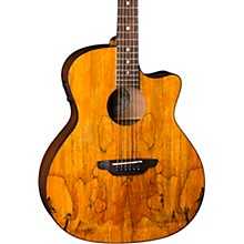 Luna Guitars Gypsy Spalt Grand Auditorium Acoustic-Electric Guitar