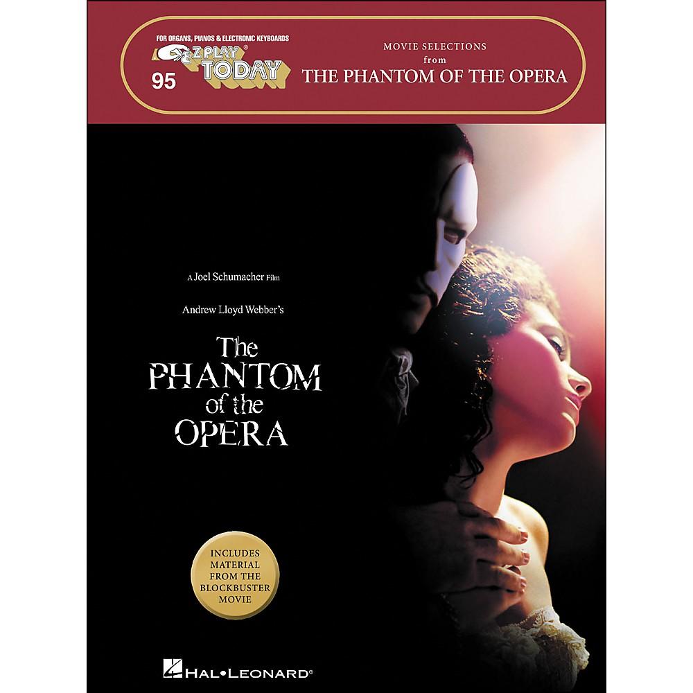 Hal Leonard The Phantom Of The Opera Movie Selections E-Z Play 95 1278002526162