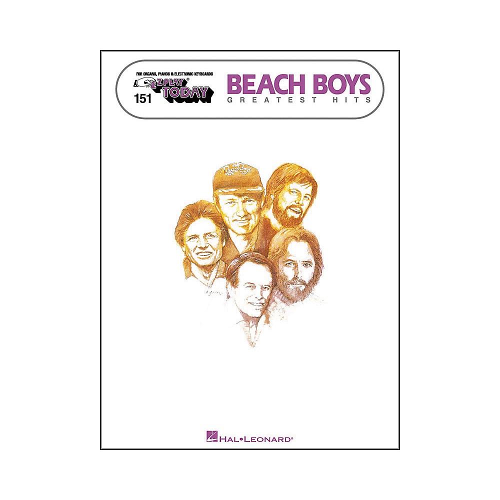 Hal Leonard Beach Boys Greatest Hits E-Z Play 151 1278002526168