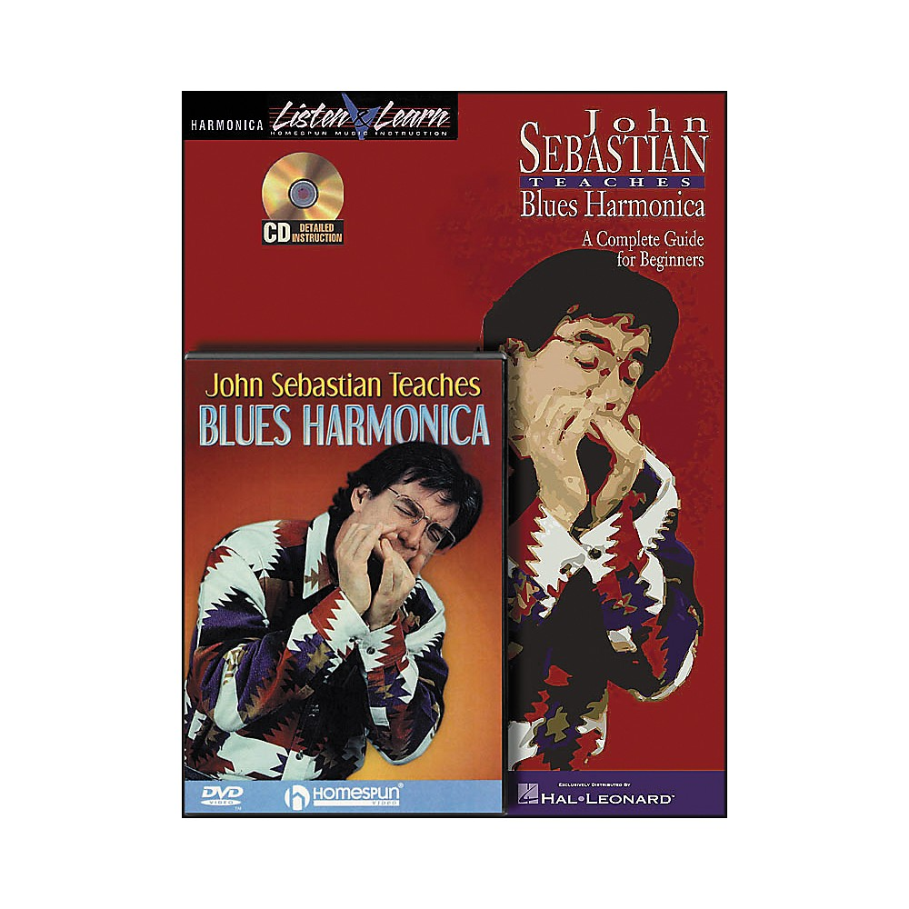 Hal Leonard John Sebastian Bundle Pack (Book/CD/DVD) 1278002526884