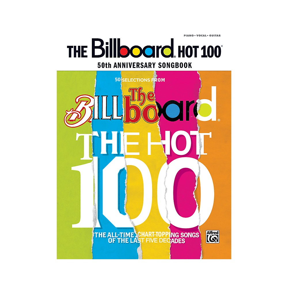 Alfred Billboard Magazine Hot 100 50Th Anniversary Songbook Pvc 1279141555490