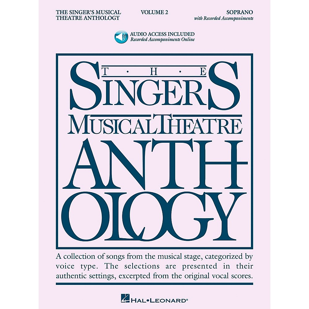 Singer's Musical Theatre Anthology For Soprano Vol. 2 [Book/Cd] 1279141556415