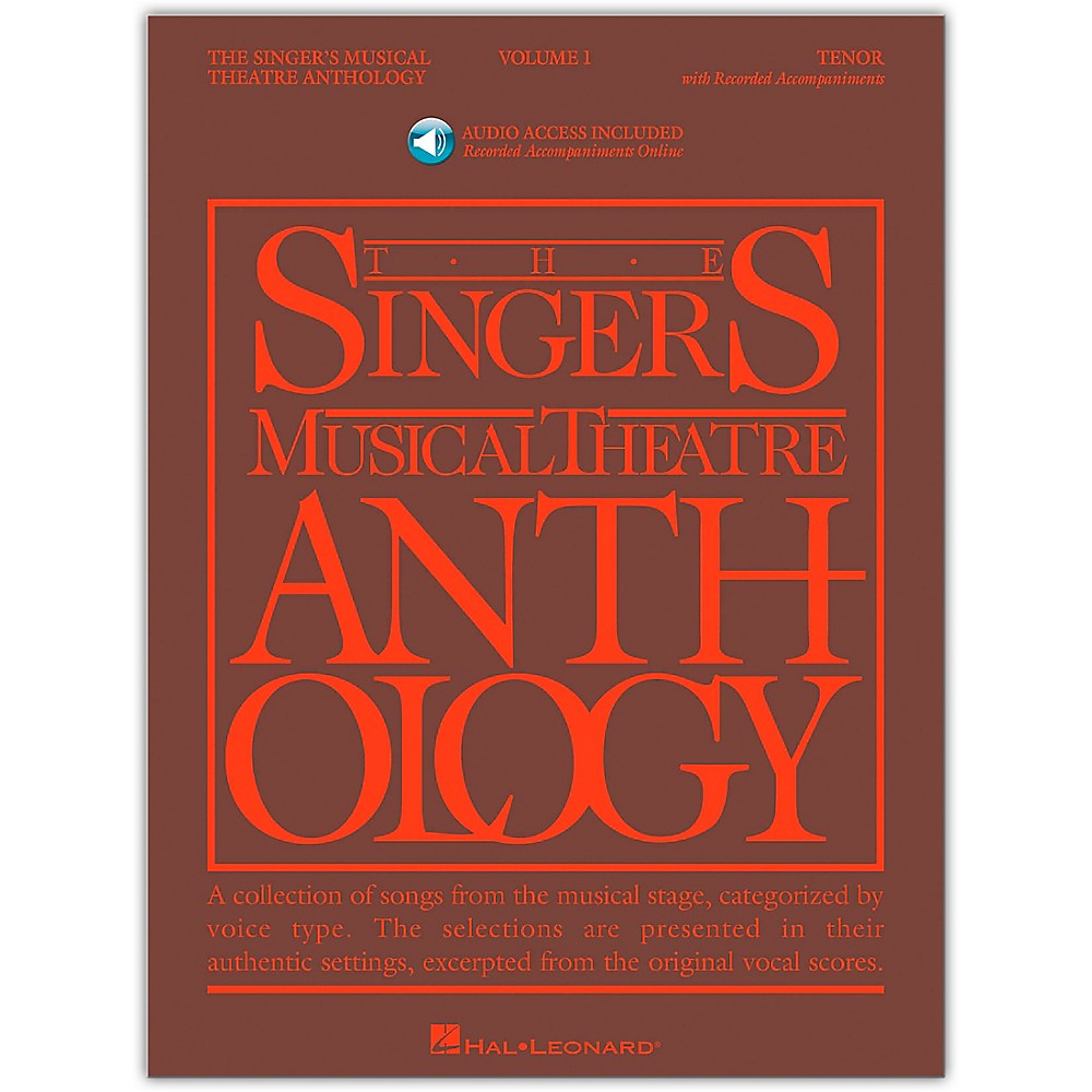 Singer's Musical Theatre Anthology For Tenor Voice Vol. 1 [Book/Cd] 1279141556577