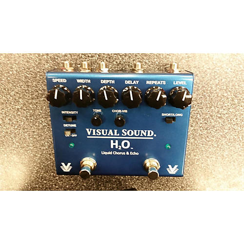Visual Sound H20 Liquid Chorus & Echo Effect Pedal