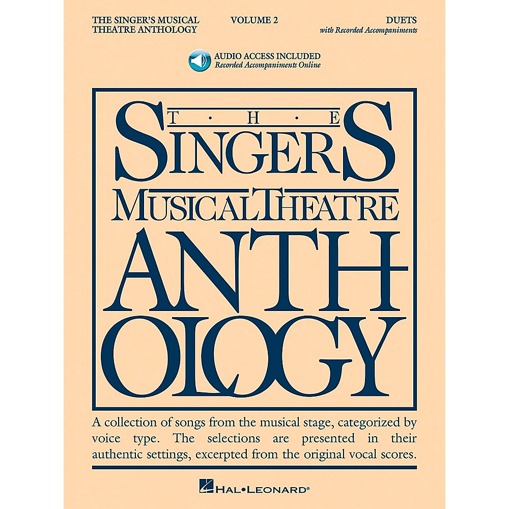 Singer's Musical Theatre Anthology Duets Vol. 2 [Book/Cd] 1279141556630