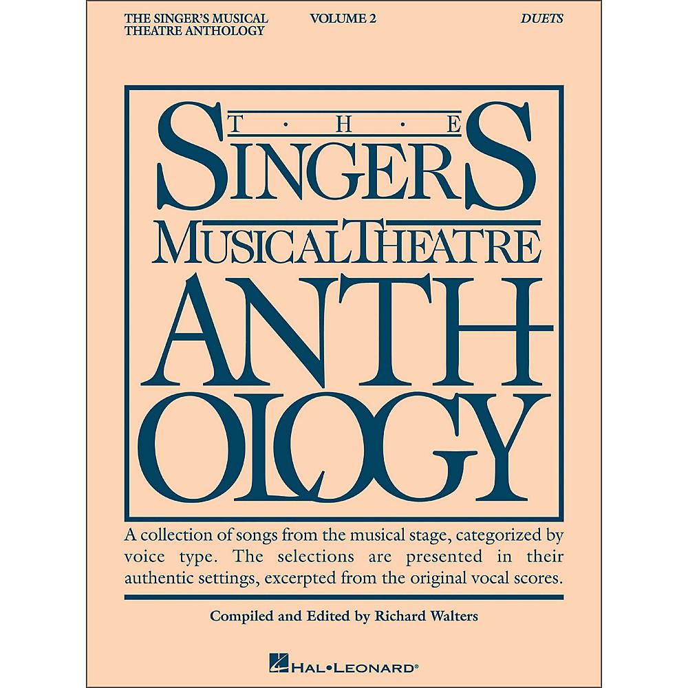 Hal Leonard Singer's Musical Theatre Anthology Duets Volume 2 1279141556668