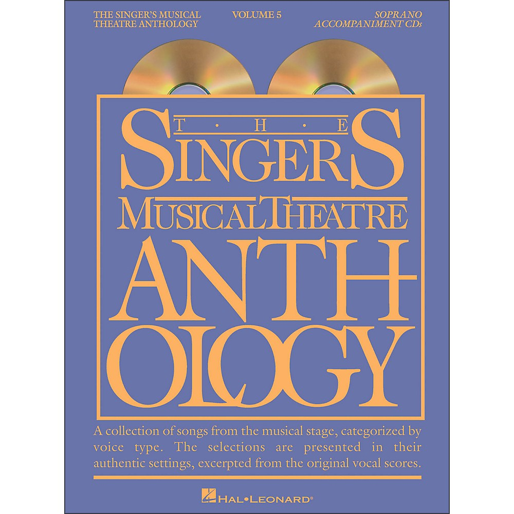 Singer's Musical Theatre Anthology For Soprano Vol 5 2/Cd Accompaniment 1279141556779