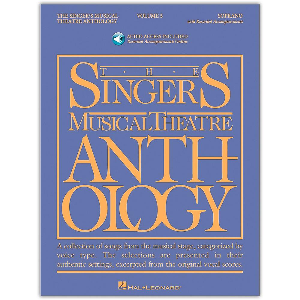 Hal Leonard Singer's Musical Theatre Anthology for Soprano Vol 5 Book/Accompaniment CD's 1279141556794