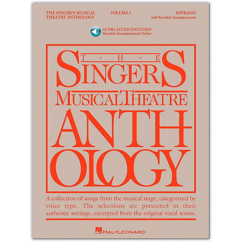 Singer's Musical Theatre Anthology For Soprano Vol. 1 [Book/Cd] 1279141556799
