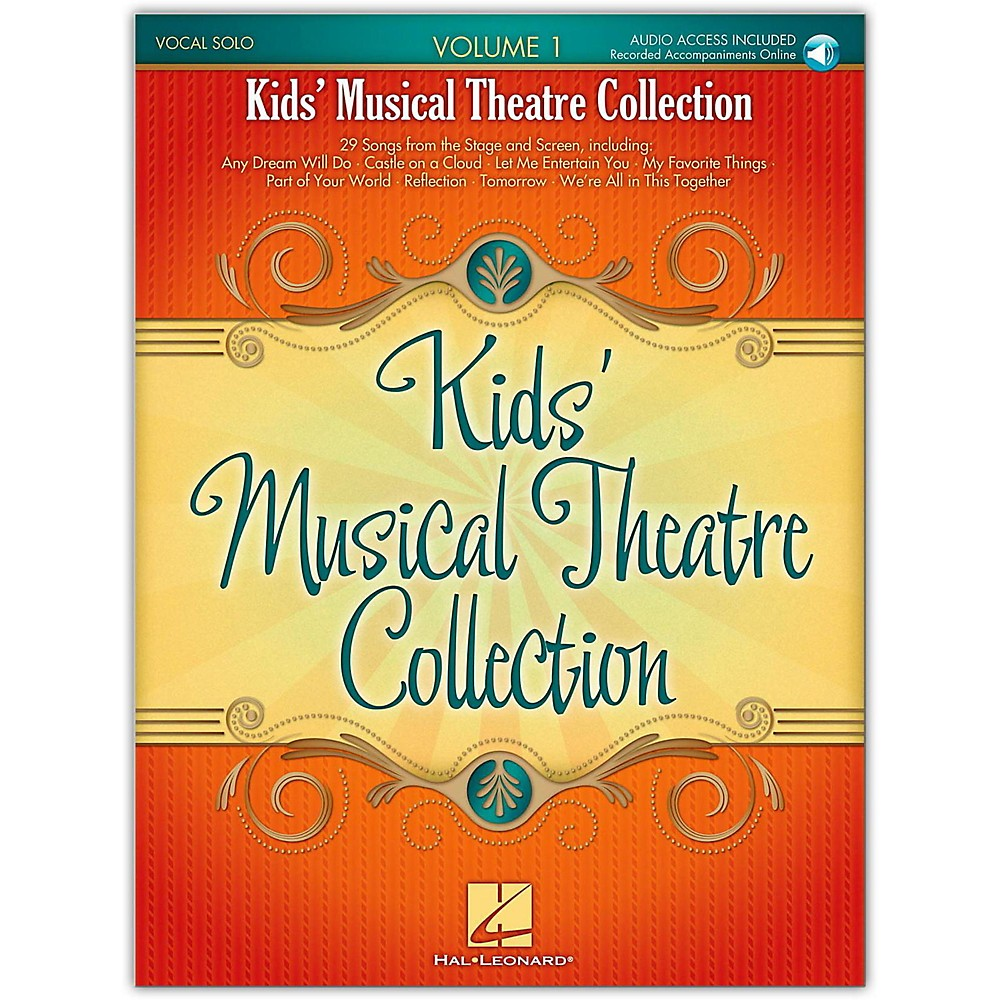 Hal Leonard Kids' Musical Theatre Collection Volume 1 (Book/Online Audio) 1279141556839